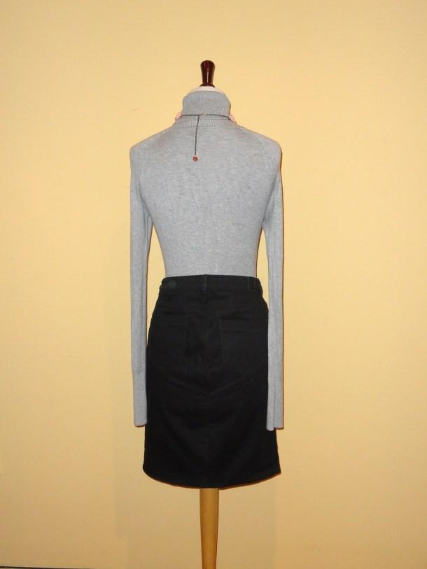 Cómo transformar un pantalón en falda 02